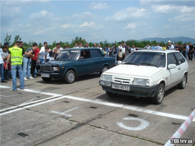 ВАЗ 2108 vs ВАЗ 2107